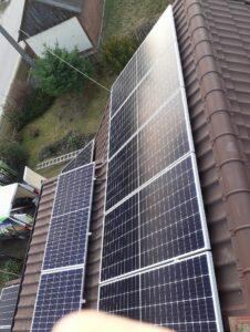 panele fotowoltaiczne - realizacja Optima Energy